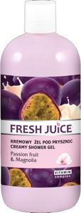 Fresh Juice, kremowy żel pod prysznic, passion fruit i magnolia, 500 ml