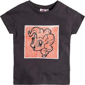 Granatowa koszulka dziecięca Cool Club z bawełny