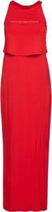 Sukienka Emporio Armani z okrągłym dekoltem bez rękawów