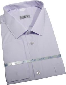 Fioletowa koszula krawatikoszula.pl w elegenckim stylu z długim rękawem