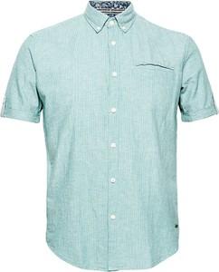 Niebieska koszula Esprit z krótkim rękawem