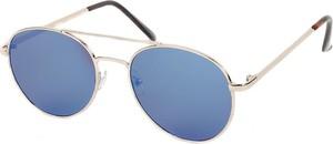 Złote okulary damskie Emp