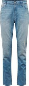 Jeansy Jack & Jones w street stylu z jeansu