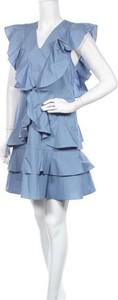 Niebieska sukienka Y.A.S mini
