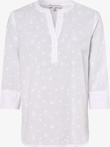 Bluzka Marie Lund z długim rękawem z dekoltem w kształcie litery v