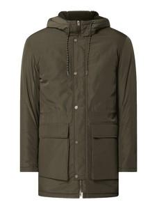 Zielona kurtka Selected Homme w młodzieżowym stylu