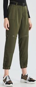 Zielone spodnie Sinsay