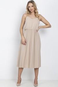 Sukienka Royalfashion.pl na ramiączkach