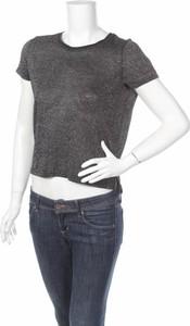 Bluzka Reserved z okrągłym dekoltem w stylu casual z krótkim rękawem