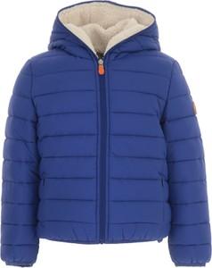 Niebieska kurtka dziecięca Save The Duck dla chłopców