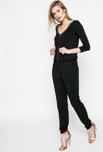 Czarny kombinezon Answear