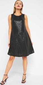 Sukienka ORSAY z okrągłym dekoltem z tkaniny