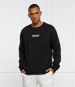 Czarna bluza Calvin Klein w stylu casual z bawełny