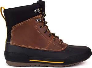 Buty zimowe Clarks w sportowym stylu sznurowane