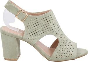 Sandały Butymodne z zamszu