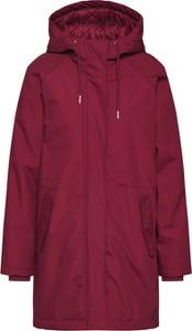 Czerwona kurtka Minimum w stylu casual