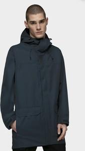Granatowa kurtka 4F w stylu casual