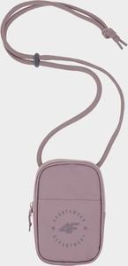Różowy plecak męski 4F