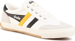 Tenisówki GOLA - Badminton CMA548 Off White/Black/Sun