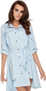 Niebieska sukienka Ooh la la