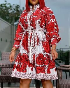 Sukienka Kendallme z długim rękawem w stylu casual mini
