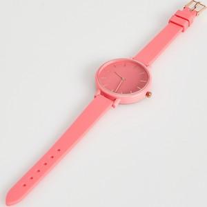 Sinsay - Zegarek - Różowy