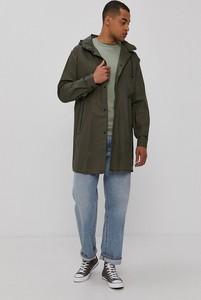 Zielona kurtka Brave Soul długa w stylu casual