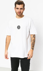 T-shirt Stussy z nadrukiem z krótkim rękawem