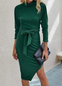 Sukienka Cikelly w stylu casual ołówkowa z golfem