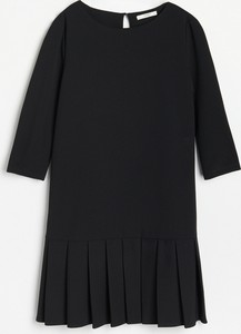 Sukienka Reserved mini oversize w stylu casual