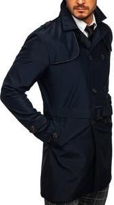 Płaszcz męski Denley z bawełny