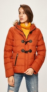 Czerwona kurtka Answear w stylu casual krótka