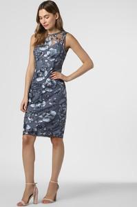 Niebieska sukienka Adrianna Papell mini