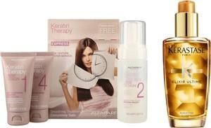 Alfaparf Milano Alfaparf Keratin Therapy Kit and Elixir Ultime | Zestaw do prostowania oraz odżywiania włosów: keratynowe prostowanie + olejek 100ml - Wysyłka w 24H!
