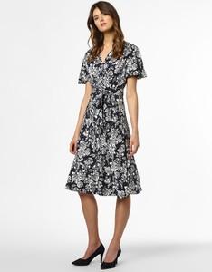Sukienka Ralph Lauren midi z krótkim rękawem