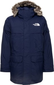 Granatowa kurtka The North Face w stylu casual