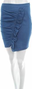 Niebieska spódnica NA-KD