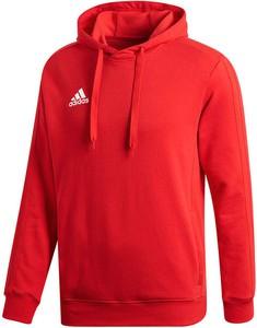 bluza adidas 3 stripes czerwona