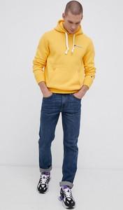 Żółta bluza Champion w sportowym stylu z dzianiny
