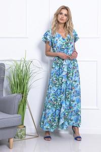 Sukienka Fobya w stylu casual z krótkim rękawem