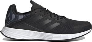 Czarne buty sportowe Adidas duramo