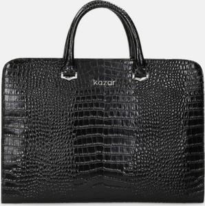 Kazar Czarna torba na laptopa damska