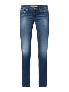 Niebieskie jeansy Tommy Jeans z bawełny w street stylu