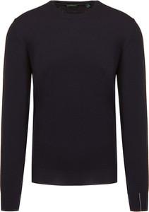 Granatowy sweter Chervo z tkaniny w stylu casual