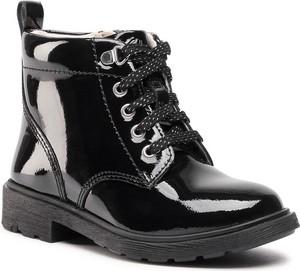 Buty dziecięce zimowe Clarks dla dziewczynek sznurowane