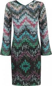 Zielona sukienka POTIS & VERSO z tkaniny