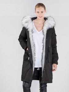 Czarna kurtka Ochnik w stylu casual