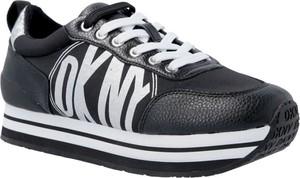 Sneakersy DKNY sznurowane