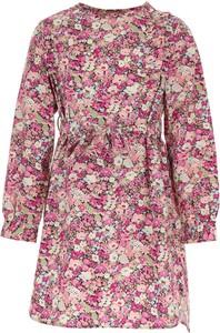 Różowa sukienka dziewczęca Bonpoint