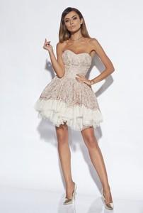 Sukienka Lou Women`s Fashion rozkloszowana bez rękawów midi